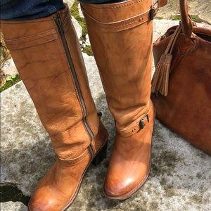 Frye Saddle Tan Boots